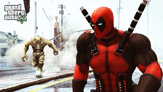 Deadpool VS. Abomination - (GTA 5 Mods Funny Moments)