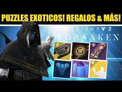 Destiny 2: Nuevo Puzzle Exótico! Secretos Izanami! Regalo en Torre! Cerradura Abierta! Futuro Uldren thumbnail