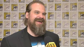 Comic-Con 2019: Black Widow: David Harbour Reveals Details About His Character (Exclusive)