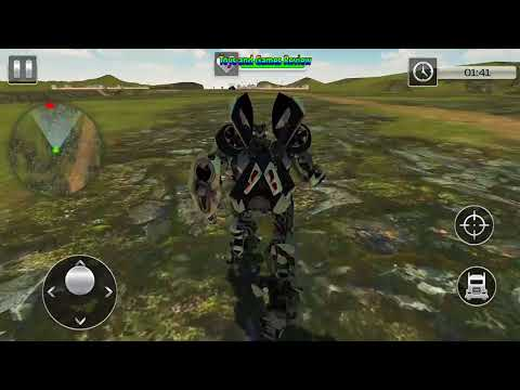 Army Truck Transform Future Robot Wars Battle 2017 Gameplay Android NEW