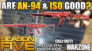 Are the New AN-94 and ISO DLC Weapons Worth Using? | Modern Warfare Multiplayer/Warzone Class Setups