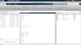 MATLAB Tutorial - Teil 2 - Datentypen, Numerik, if und for