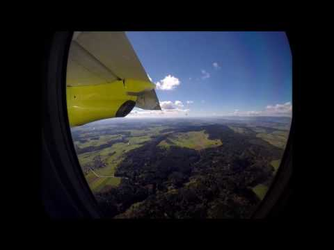 SkyWork SX601 fligth from Vienna Airport  to Bern Airport / Music Peter Hollens On top of the world