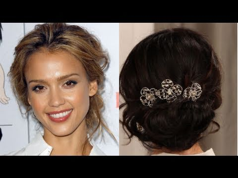 How to create a romantic loose updo youtube how to create a romantic loose updo urmus Choice Image