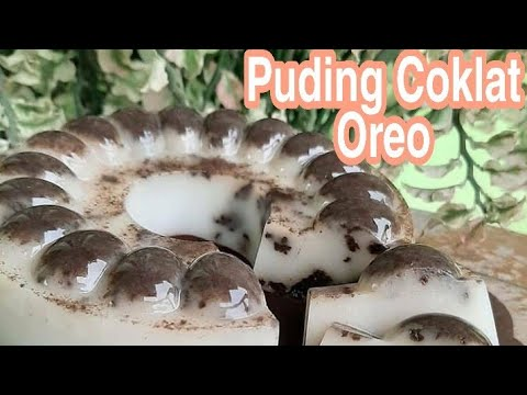 puding-coklat-oreo