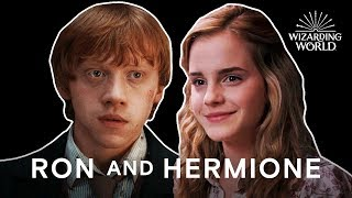 Ron and Hermione Most Perfect Moments | Harry Potter Compilation | Wizarding World
