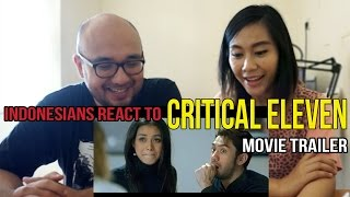 Video Indonesians React To Critical Eleven Movie Trailer download MP3, 3GP, MP4, WEBM, AVI, FLV Maret 2018