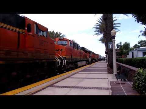 (Must See!) Railfanning Fullerton, Santa Barbara, and Camarillo! Feat: BNSF, Metrolink, and Amtrak!