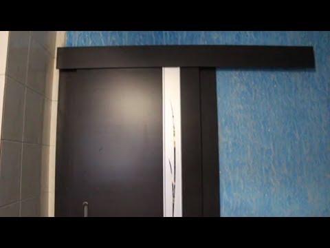 Раздвижные двери своими руками видео