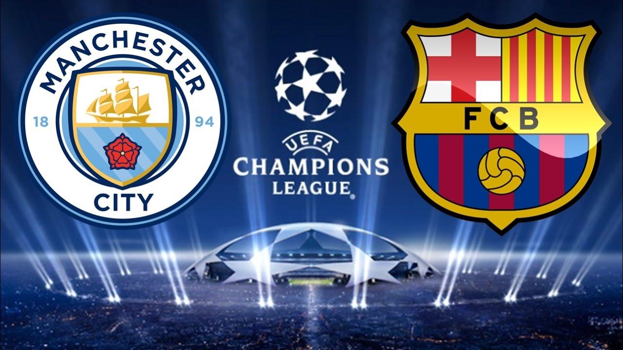 Manchester City X Barcelona 01 11 2016 Uefa Champions League Fifa 17 Youtube
