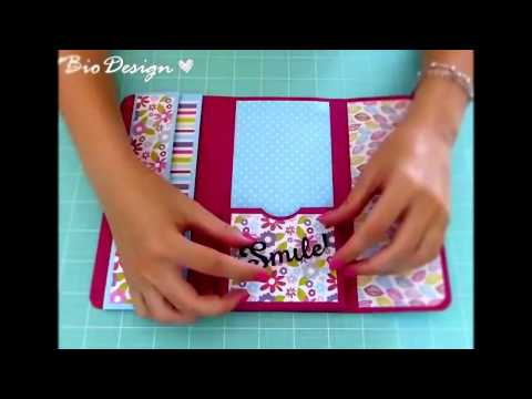 Creative Ideas!  | HOW TO MAKE A  NOTEBOOK FOLDER WITH PAPER | Notebook Folder DIY |