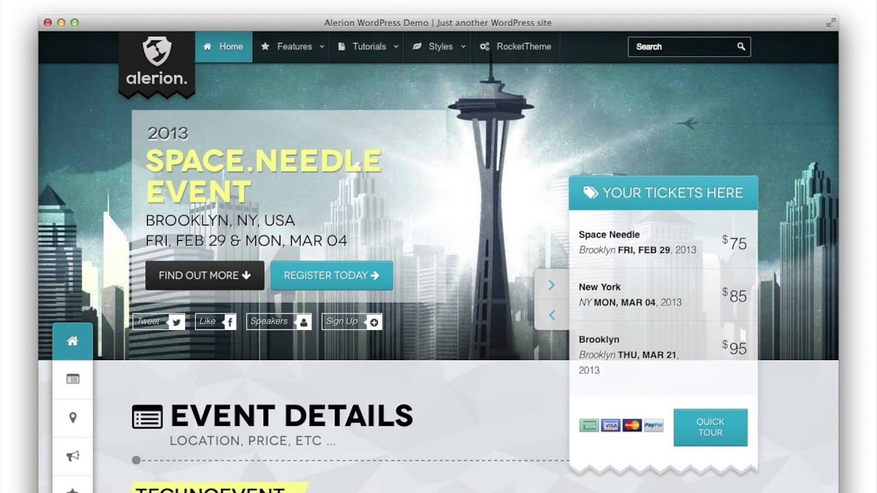 Best WordPress Themes for Conference and Event 2015