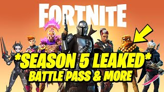 Fortnite Season 5 Leaks - ALL Battle Pass Skins (LEAKED)