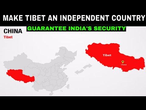 Make Tibet an independent country to guarantee India's security