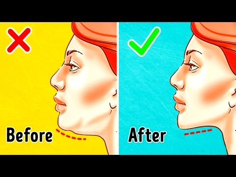 The Most Effective Exercises To Get Rid Of Double Chin