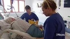 """""""Künstliches Koma"""" rbb Praxis in der Intensivstation des Krankenhauses Bethel Berlin"""