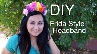 Frida Style Headbands (DIY)