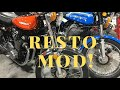 Resto Mod Vintage Motorcycles Explained