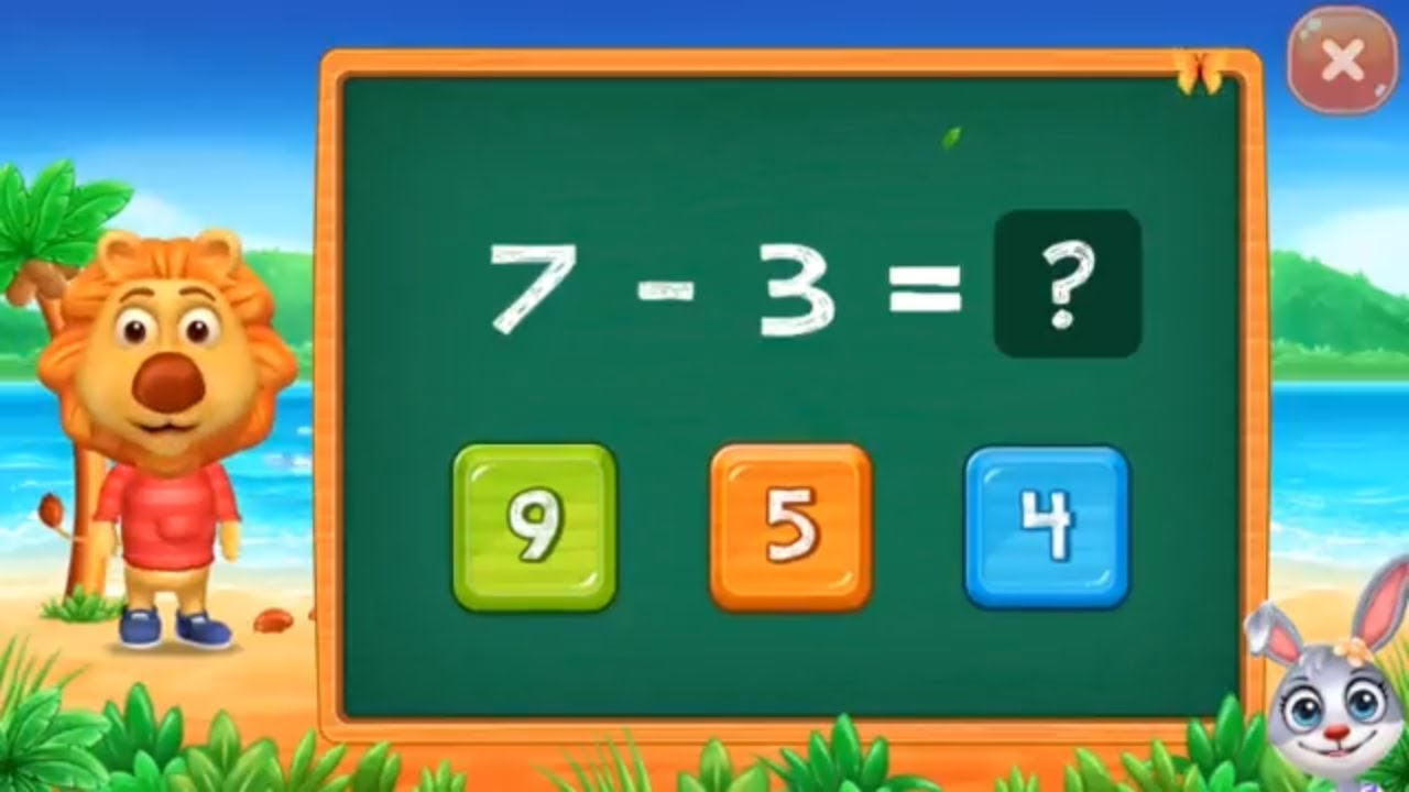 Math Kids - learn subtraction for kids Educational Games