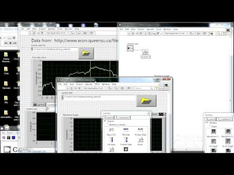 LabView For Data Analysis: Chapter 1 Part 1 (Chapter 2 Coming Soon)