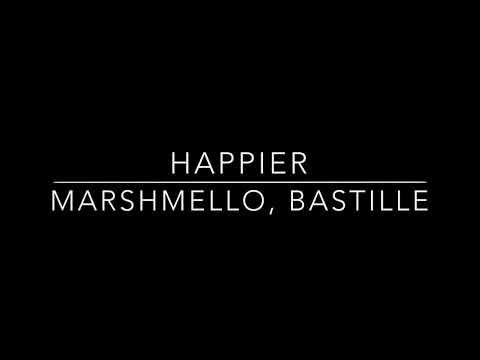 Marshmello, Bastille - Happier [Mp3 Download]