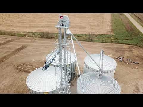 Sudenga Grain Leg - Dave Krieg Site