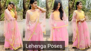 Lehenga Poses Lehenga Poses For Girls Fab Ash