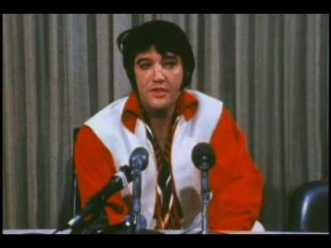 Elvis Presley - The February 1970 Houston Astrodome Press Conference