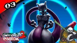 ARE you Mewtwos? On the way to Boss!!! -Swordburst 2 [Sao] Roblox #03