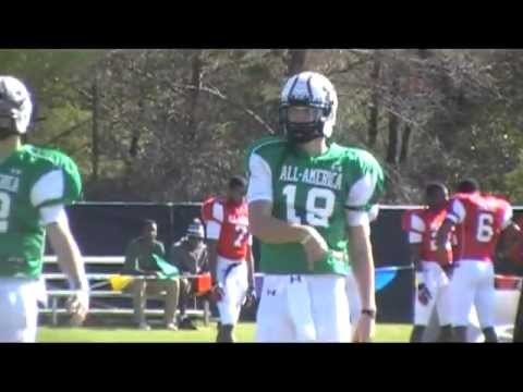 QB Kevin Olsen at Under Armour Practice