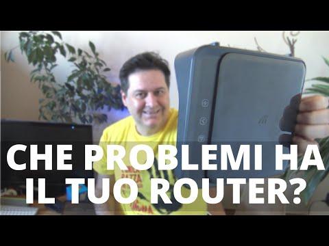 Problemi col modem router