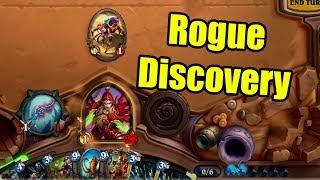 Hearthstone Fun Decks: Discovery Rogue