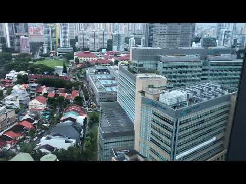 Helicopter Landing Pad Tan TOCK Seng Hospital #Sky22