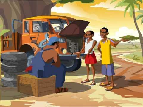 Microcredit Africa Works - Cartoon 'Birima Son of Africa'