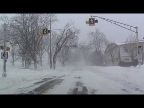 Driving in a Halifax Blizzard, February 13, 2017