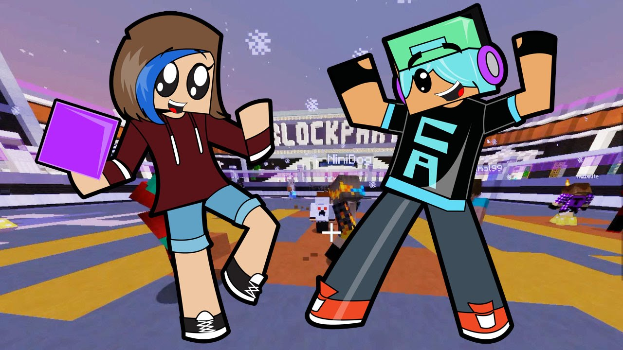 Minecraft Block Party Look At My Moves Gamer Chad Plays Youtube