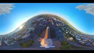 au「Hello, New World.」warp cube 360° ヴァーチャルトリップムービー