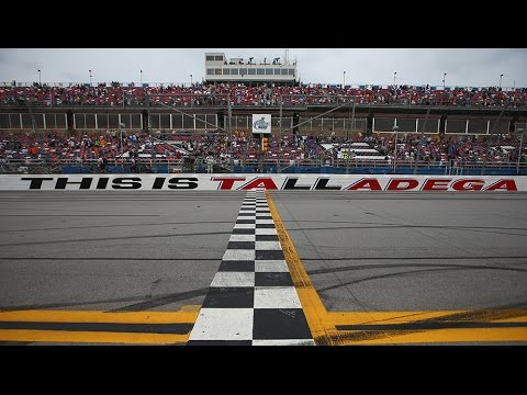 71f2277ff1e89 How will Talladega s start finish line affect stage racing  - YouTube