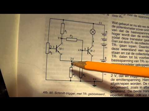 The schmitt trigger circuit explained