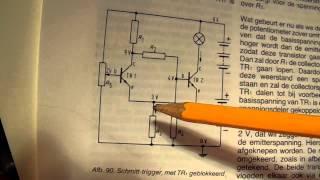 The schmitt trigger circuit explained