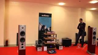 Audiovector SR 6 Avantgarde @ Sab. Rel G1@ Audionet @ Nordost @Hi-Fi & High End Show 2015