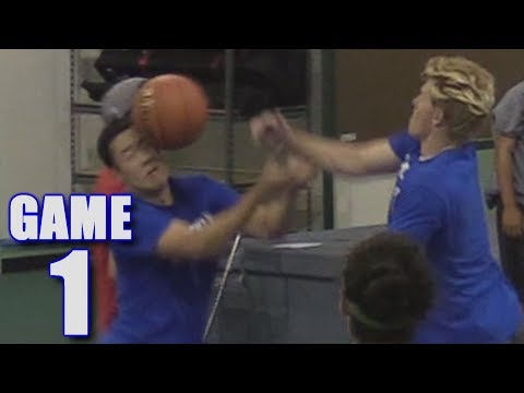EPIC LAST MINUTE COMEBACK IN OUR FIRST BASKETBALL GAME! | On-Season Basketball Series | Game 1