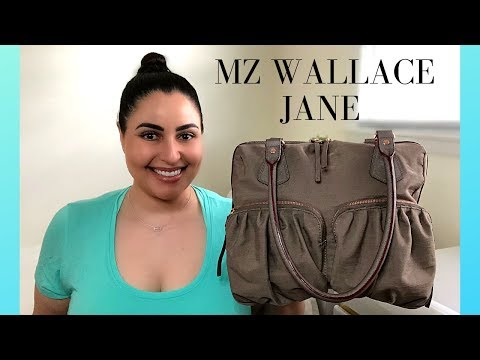 MZ Wallace Jane Shoulder Bag - Review, What's in my Bag WIMB, and Mod Shots