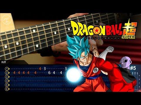 Dragon Ball Super | Goku vs Jiren Theme (Ultimate Battle) | Guitar CoverTutorial