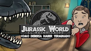 Como Jurassic World: El Reino Caído Debería Haber Terminado