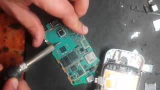 Ремонт Samsung Galaxy Mini 2 замена слота SIM катры в Киеве