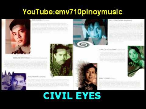 Please Don't Go - Civil Eyes on CD