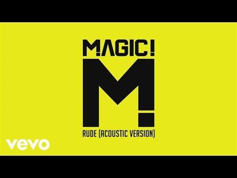 MAGIC!  Rude Acoustic PSEUDO