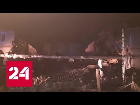 Взрыв бытового газа произошел в жилом доме под Нижним Новгородом - Россия 24