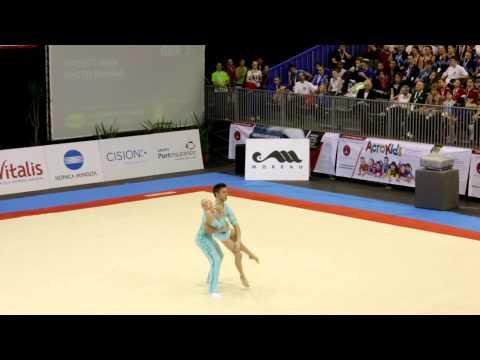 Gymnastics FIG Acro World Cup Maia 2014 MxP Balance GBR
